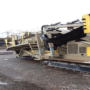 used screen and crushers
