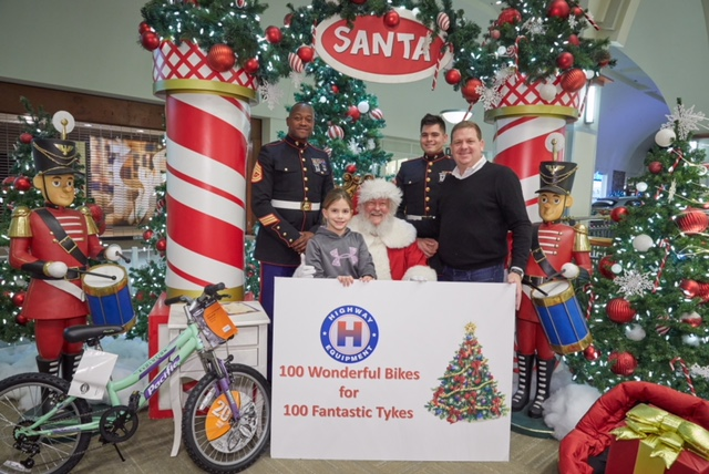 Motorcycles Presiodent Toys For Tots : Highway donates bikes to toys for tots equipment